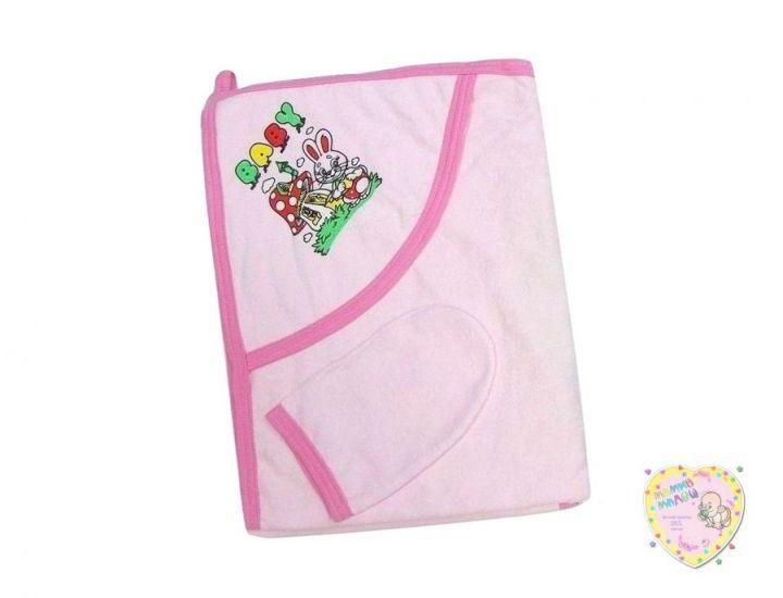 Полотенце 01465-1 розовое Мамин Малыш
