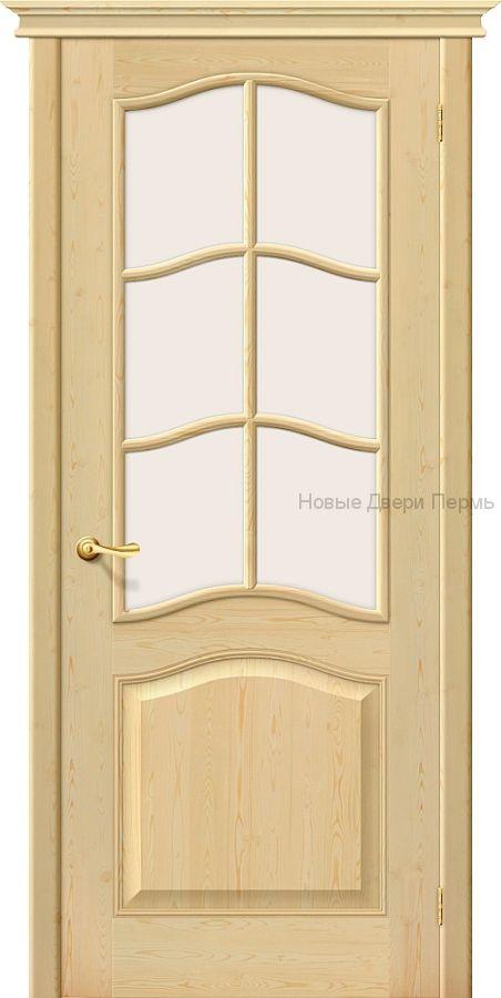 М7 ПО под покраску, межкомнатная дверь массив