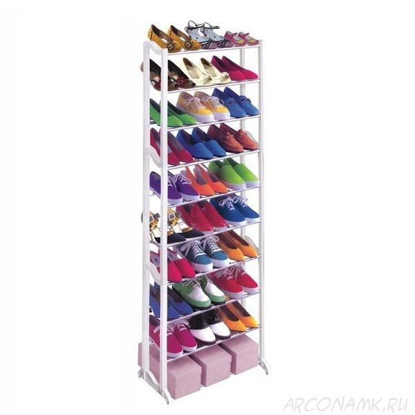 Стойка для обуви Amazing Shoe Rack, Цвет: Белый