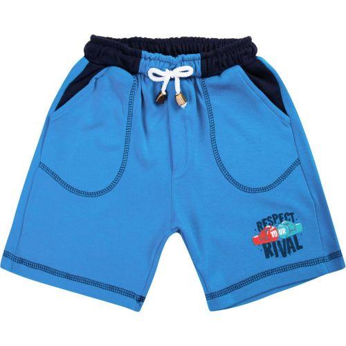 Шорты для мальчика Bonito kids 2-5 лет голубые