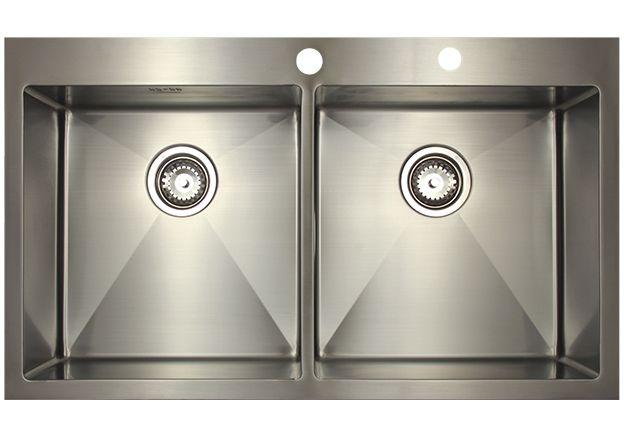 Врезная кухонная мойка Seaman ECO Marino SMB-8851DS.A 88х51см нержавеющая сталь