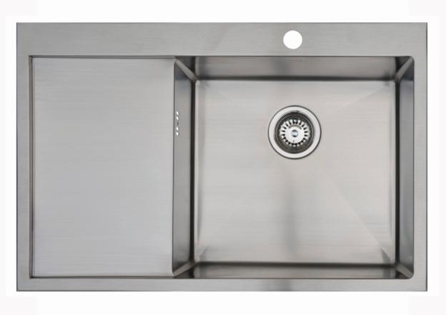 Врезная кухонная мойка Seaman ECO Marino SMB-7851LS.B 78х51см нержавеющая сталь