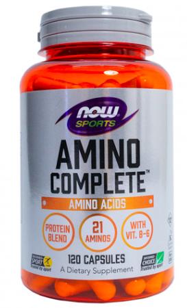 Amino Complete от NOW (120 кап)