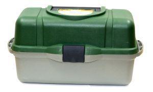 Рыболовный ящик Следопыт зелёный PF-BU-T03