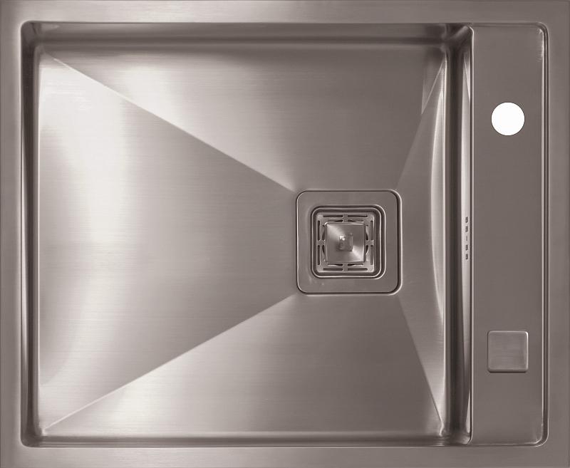 Врезная кухонная мойка Seaman ECO Marino SMB-610XSQ.B 61х50см нержавеющая сталь