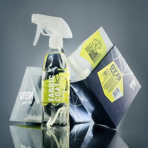 Нанесение кварцевой пропитки для ткани салона авто Gyeon Q2 Fabric Coat