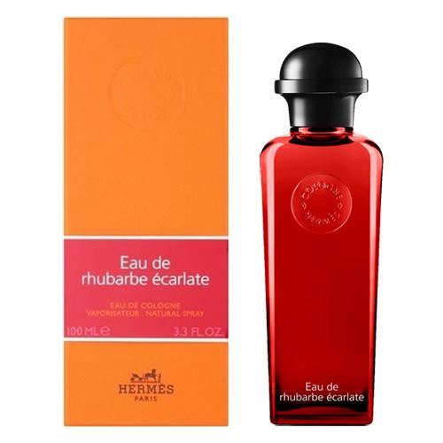 Одеколон Hermes Eau De Rhubarbe Ecarlate 100 мл - подарочная упаковка