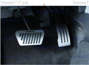 Накладки на педали, с логотипом, а/м с Акпп/CVT