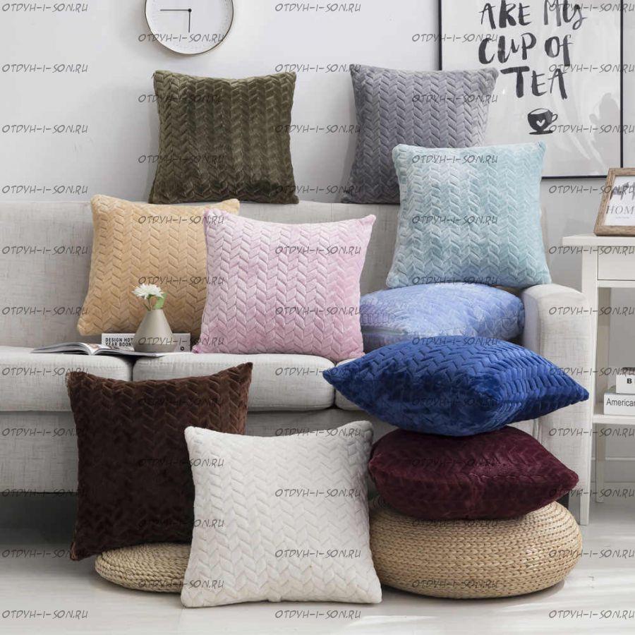 Подушка диванная, квадратная №1 Мебель-ONLY