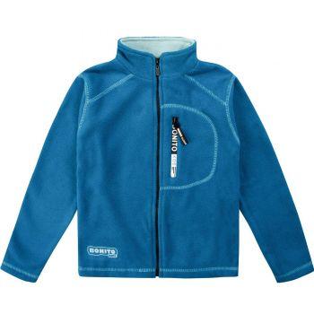 Флисовый джемпер для мальчиков Bonito kids 9-12 лет, синяя
