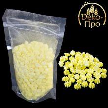 Сахарное украшение МИНИ-БЕЗЕ желтые 100шт/уп 40г