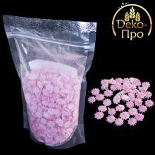 Сахарное украшение МИНИ-БЕЗЕ розовые 100шт/уп 40г