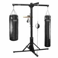 Напольная конструкция для двух боксерских мешков FS11