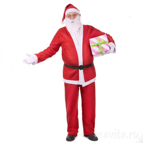 Костюм Санта Клауса, Размер 50-54
