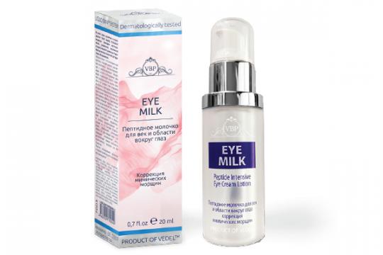 Пептидное молочко для век и области вокруг глаз