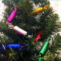 Набор елочных игрушек Разноцветные конфеты, 12 шт