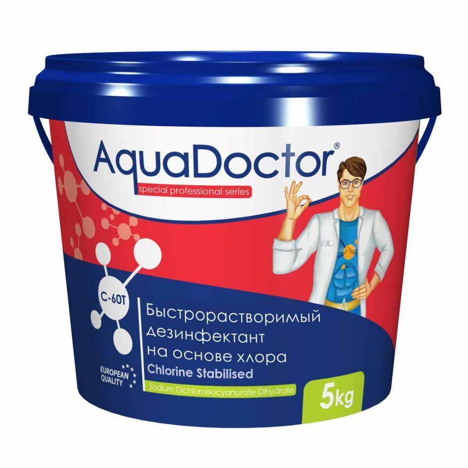 Хлор быстрого действия в таблетках AquaDoctor C-60T
