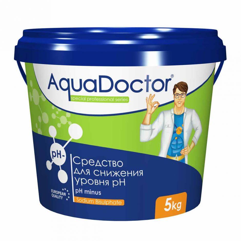 Понижение уровня pH AquaDoctor pH Minus