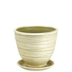 горшок флора св.оливка 1 3-24 (90-124)