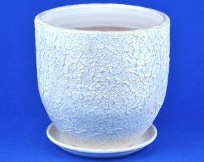 горшок Текстура бел/жемч.2 4-23 (58-223)