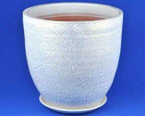 горшок Текстура бел/жемч.5 6-23 (58-523)