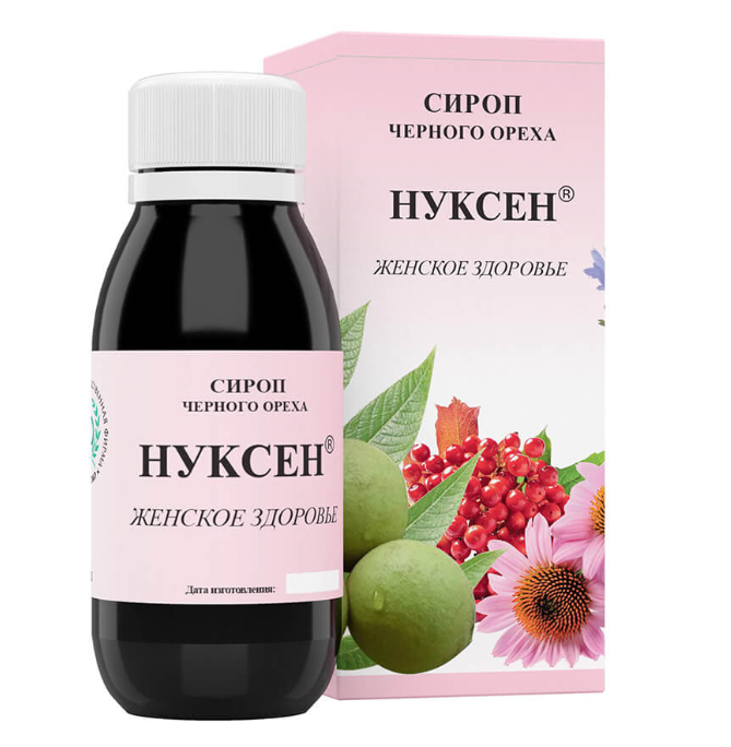 ФИТЭКО Сироп НУКСЕН Женское здоровье 125 мл