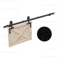 Комплект фурнитуры ROC DESIGN Idun на 1 дверь с направляющей 2000 мм фото 3