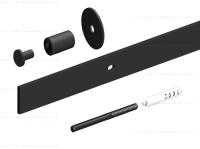 Комплект фурнитуры ROC DESIGN Ymir на 1 дверь с направляющей 2000 мм