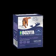 BOZITA Tetra Pac Naturals Влажный корм для собак, кусочки в желе с индюшатиной. 370гр.