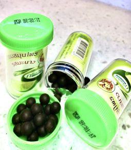 Тайские шарики от кашля и боли в горле, травяные,30 гр , 64 шт