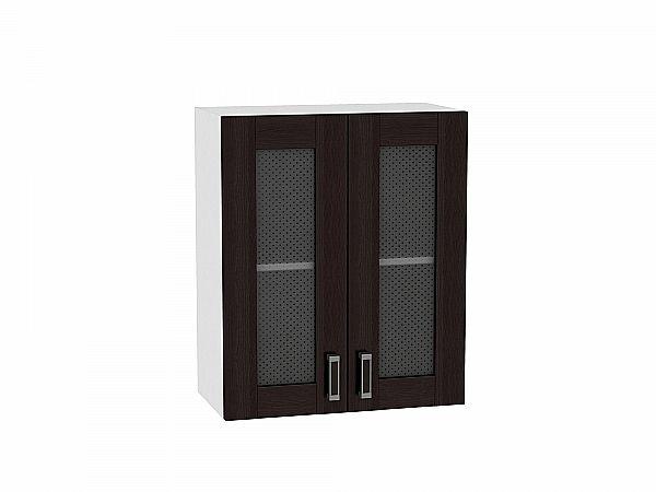 Шкаф верхний Лофт В609 со стеклом (Wenge Veralinga)