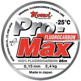 Леска флуорокарбон Momoi Pro-Max Fluorocarbon 25 м / цвет: прозрачный
