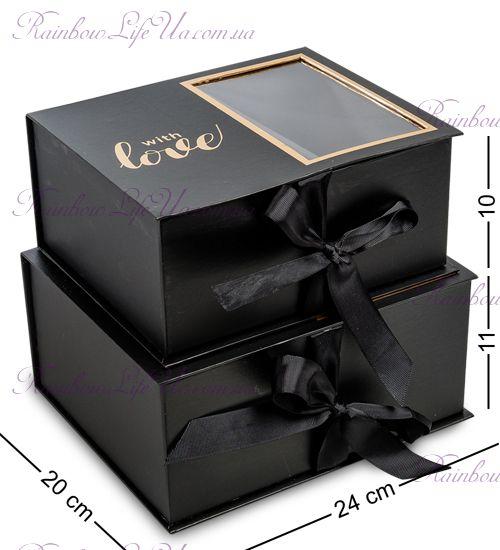 "Коробка подарочная ""With love"""