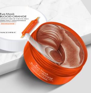 """Гидрогелевые патчи с экстрактом красного апельсина """"Eye Mask Blood Orange """" Images .(23501)"""