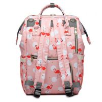 Сумка-рюкзак для мамы Mummy Bag Фламинго (2)