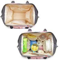 Сумка-рюкзак для мамы Mummy Bag Фламинго (5)