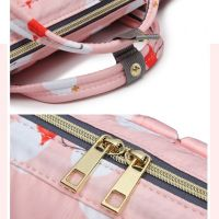 Сумка-рюкзак для мамы Mummy Bag Фламинго (4)