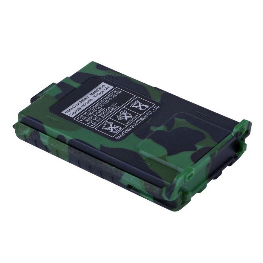Аккумулятор BL-5 для рации Baofeng UV-5R (1800 мАч) камуфляжный