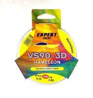 Леска хамелеон Expert Profi VS90-3D 0,12 мм 30 М