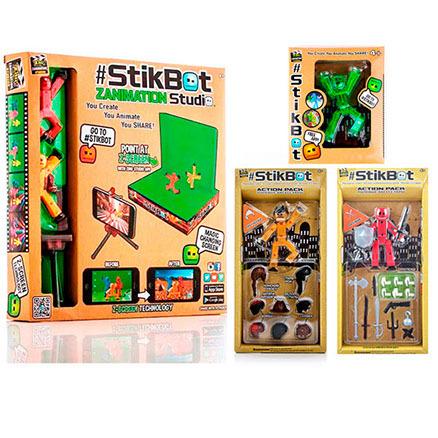 Stikbot набор с 5 актерами