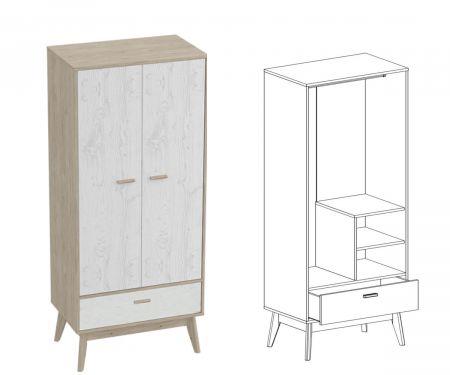Калгари Шкаф для одежды
