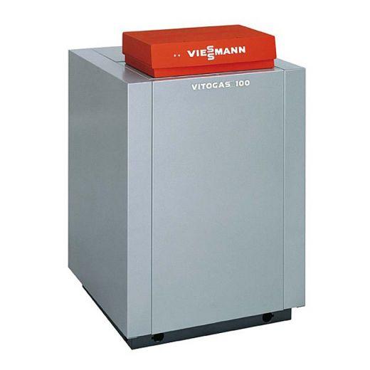 Котел газовый напольный Viessmann Vitogas 100-F одноконтурный с открытой камерой сгорания 29 кВт тип KC4B