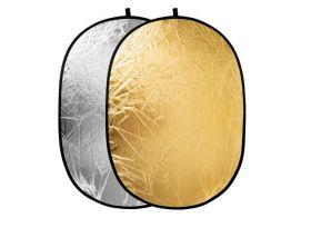 Отражатель  2 в 1  RF-01 золото/серебро 100*150см
