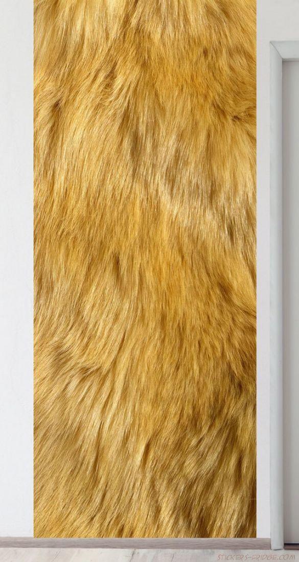 Панно на стену - Шерсть льва