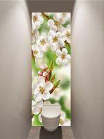 Фотообои в туалет - Весенние зарисовки магазин Интерьерные наклейки
