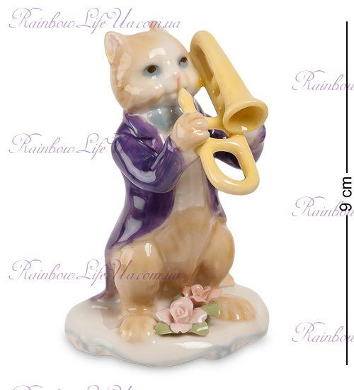 "Фигурка кот с тромбоном ""Pavone"""