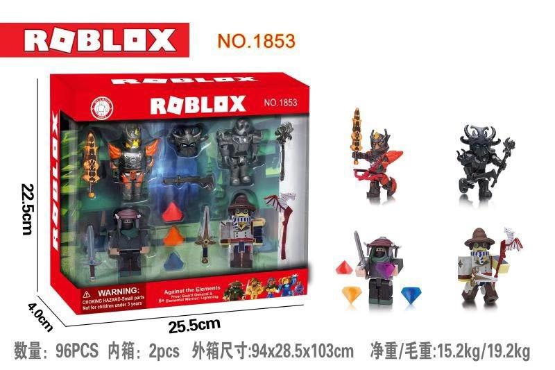 Роблокс Roblox 4 фигурки