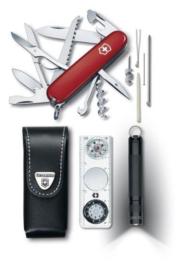 Нож Victorinox Traveller Kit, 91 мм, 26 функций, красный