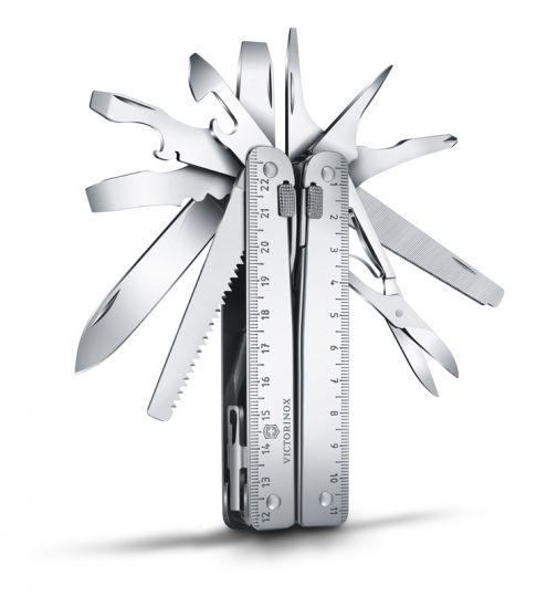 Мультитул Victorinox SwissTool X, 115 мм, 26 функций, синтетический чехол