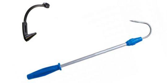 Багорик телескоп алюминиевый с пластмассовой ручкой Три Кита
